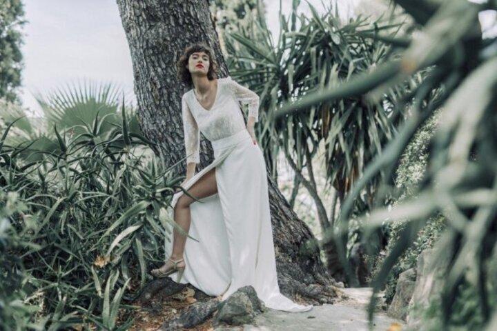 فساتين زفاف Laure De Sagazan لخريف وشتاء 2020 من اسبوع الموضة العرائسي