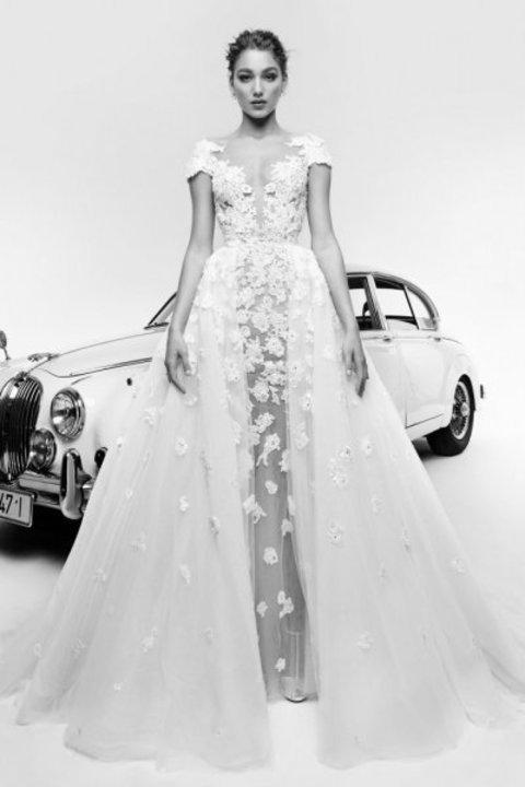 احدث موديلات فساتين زفاف زهير مراد 2019