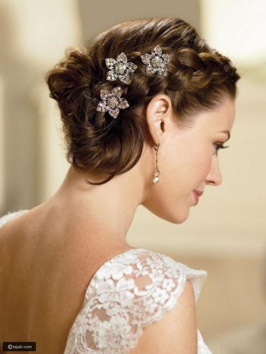 تسريحات عرائسية ومميزة ليوم زفاف