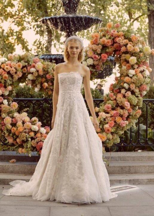 اجمل فساتين زفاف كورسيه من مجموعات شتاء 2020