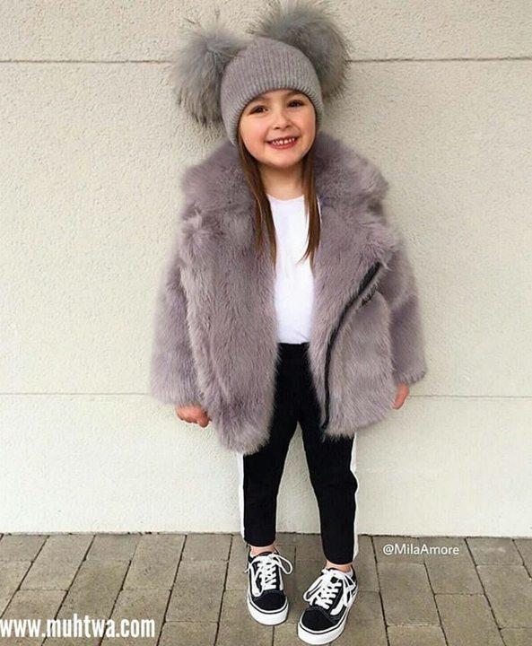d5d953e3580a8 أحدث ملابس الشتوي للأطفال 2019