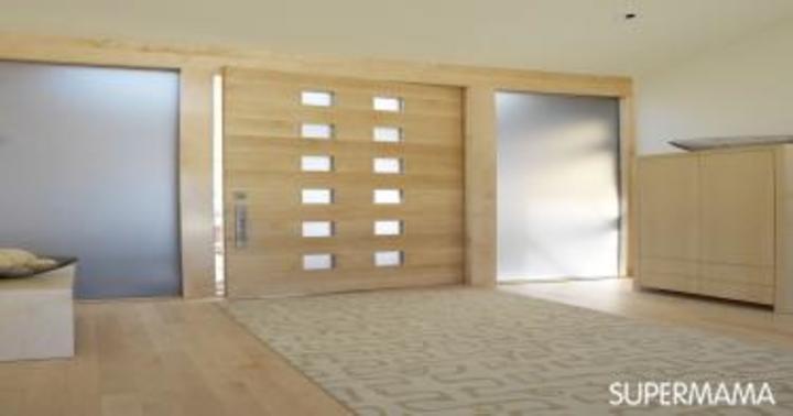 بالصور.. تصميمات جذابة لكل أبواب المنزل