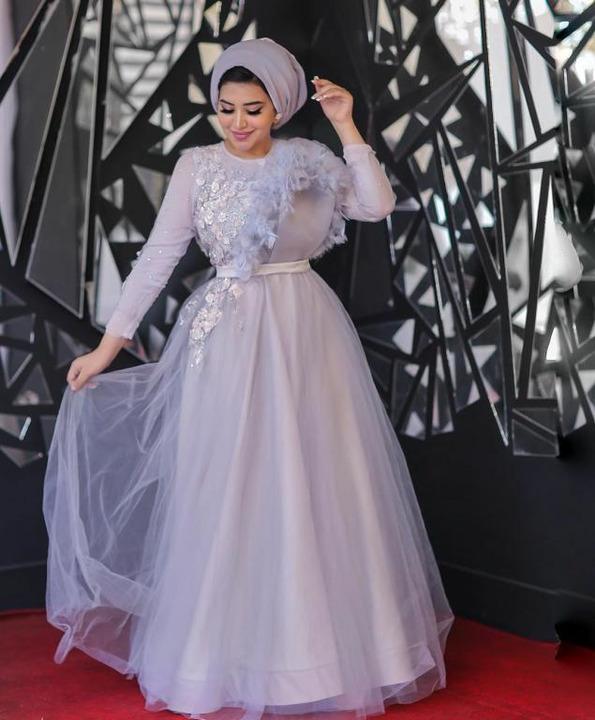 فساتين سهرة للمحجبات موضة الموسم من وحي الفاشينيستا