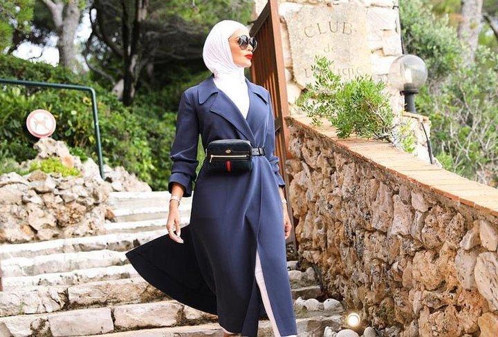 7e991b0ca ملابس محجبات صيف 2018: موديلات تناسب احتفالات العيد