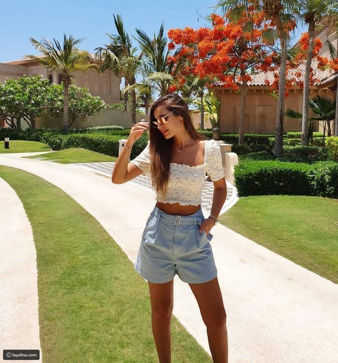 غيري استايلك في الصيف وألبسي puffy blouses علي طريقة مشاهير العرب