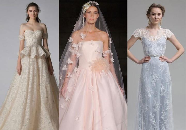أبرز ألوان فساتين الزفاف 2019