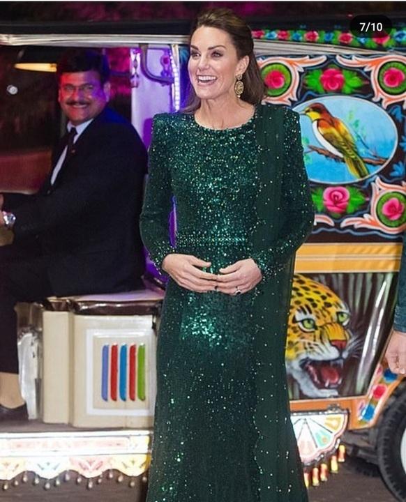 بأربع إطلالات أنيقة كيت ميدلتون تتألق في باكستان.. من الأجمل؟