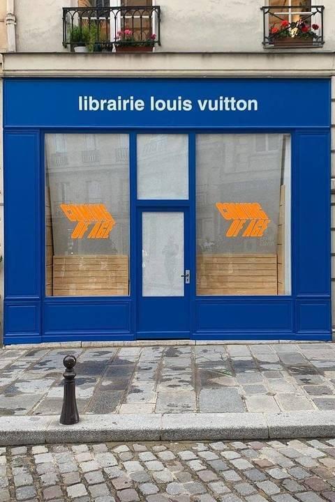 Virgil Abloh يفتتح مكتبة خاصّة بلوي فويتون في باريس
