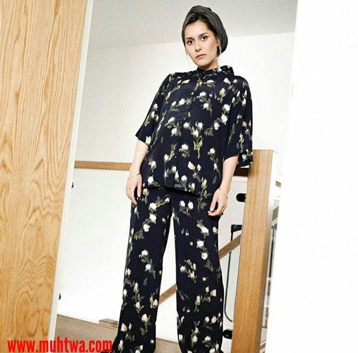 2249f4ee1 اجمل ملابس الحوامل للمحجبات