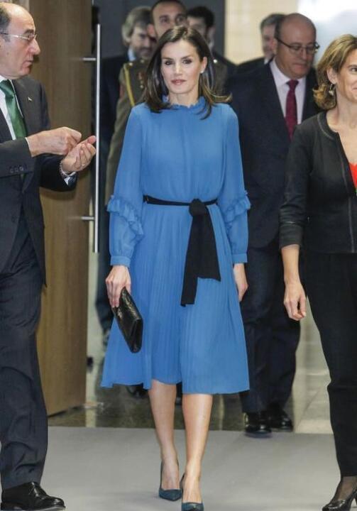 أجمل إطلالات الملكة ليتيسيا في عام 2019
