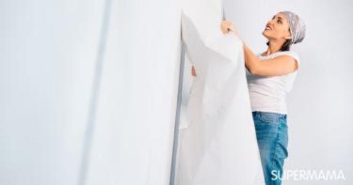 طرق سريعة وسهلة لإزالة ورق الجدران