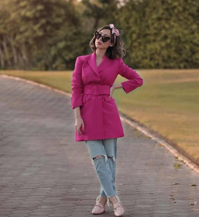 بالصور –انتقادات لبسمة بوسيل بسبب ملابسها غير المتناسقة... ماذا اختارت؟