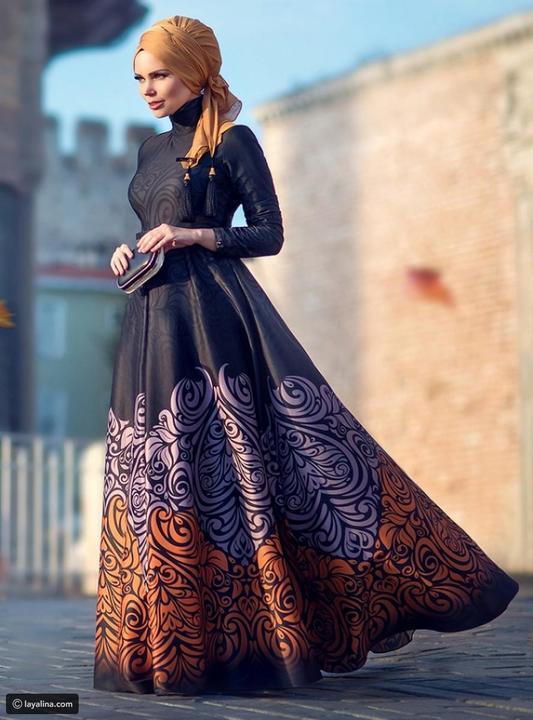 طرق مختلفة لأزياء السهرة الخاصة بالمحجبات، تعرفي عليها