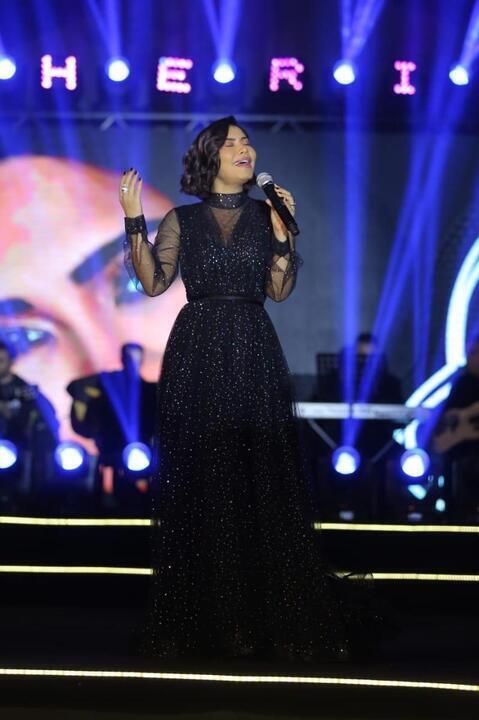 أجمل فساتين شيرين عبد الوهاب في عيد ميلادها الـ 40