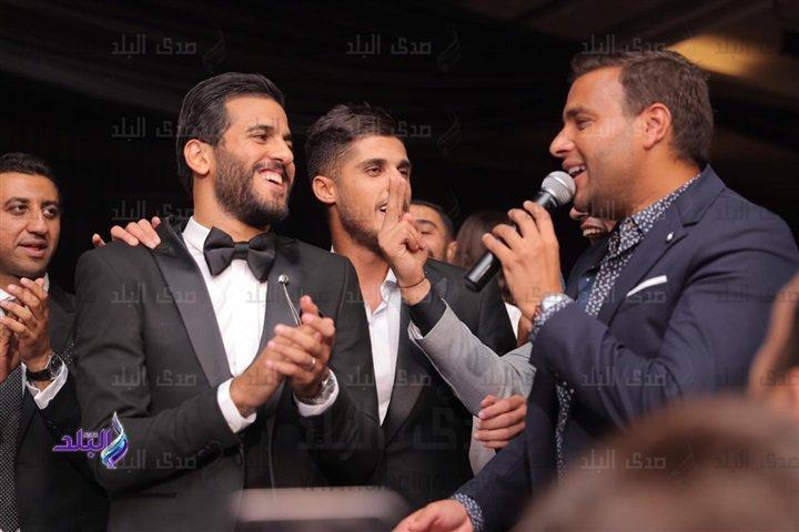 رامى صبرى يشعل زفاف مروان محسنبـ أغانى فارق معاك ..صور