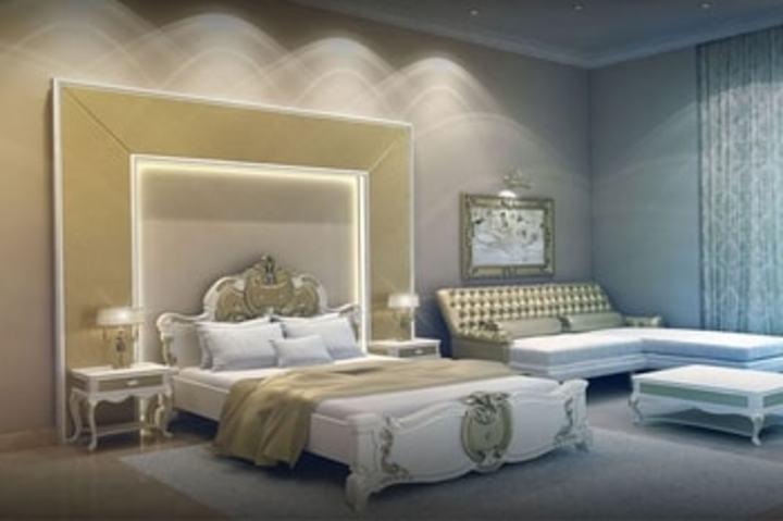 غرف نوم ملكية بتصميم أرسطو كاسل