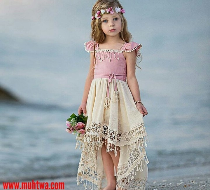 3a40af43a فساتين اطفال بنات للعيد