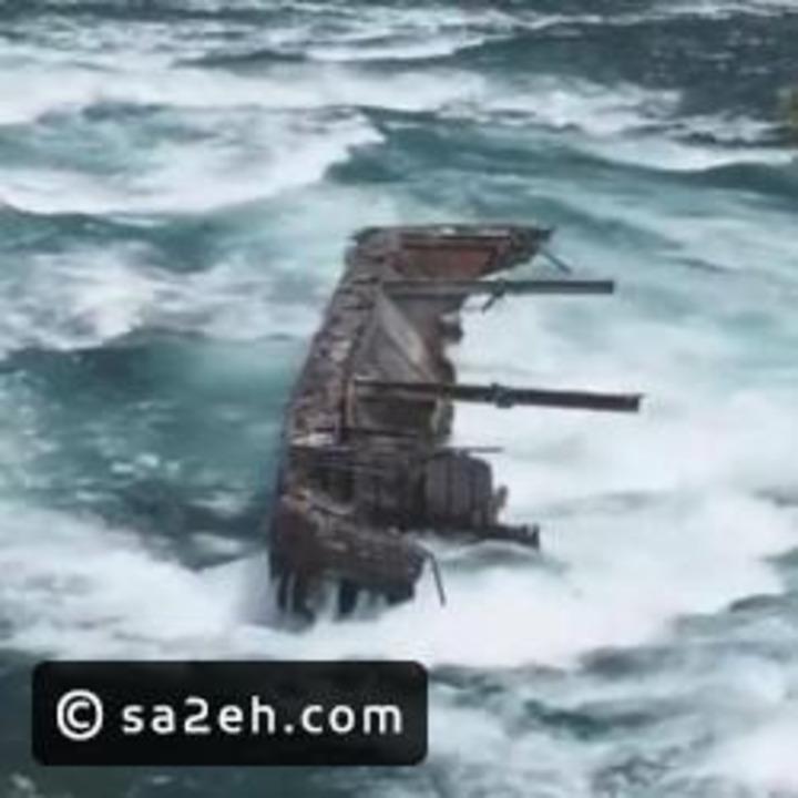 شاهد: تحرك قارب عالق منذ 100 عام أعلى شلالات نياجرا