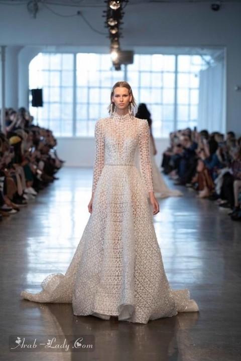تشكيلة من أجمل فساتين زفاف 2020 مع لمسات من الدانتيل الناعم