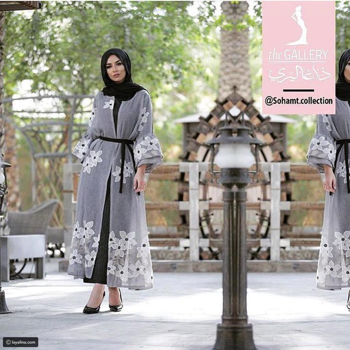 عبايات ومطرزات لسحور وفطور رمضان من مدونة الموضة سهى