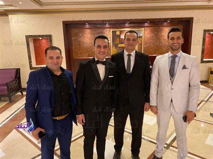حفل زفاف المستشار إبراهيم موافي على نورهان عبد الحميد عطوان.. صور