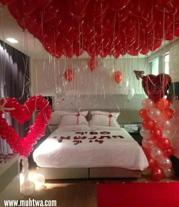 ديكورات غرف نوم رومانسية 2019