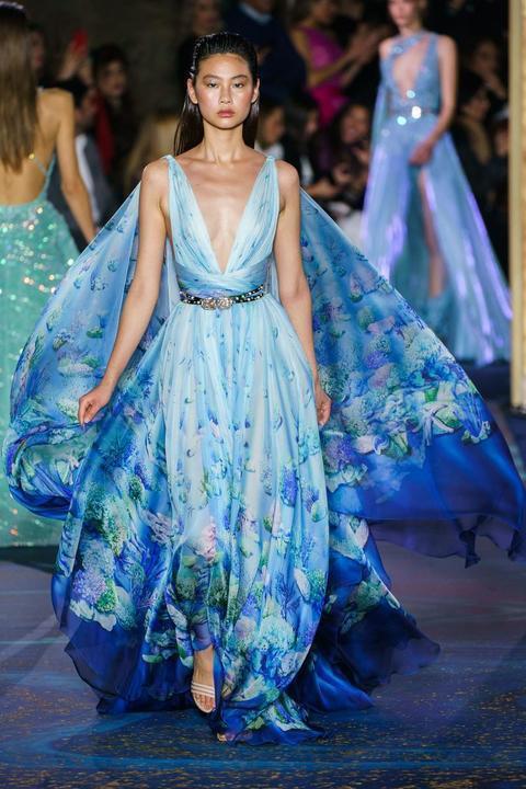 الأزرق يطغى على مجموعة زهير مراد لربيع وصيف 2019 للسهرات