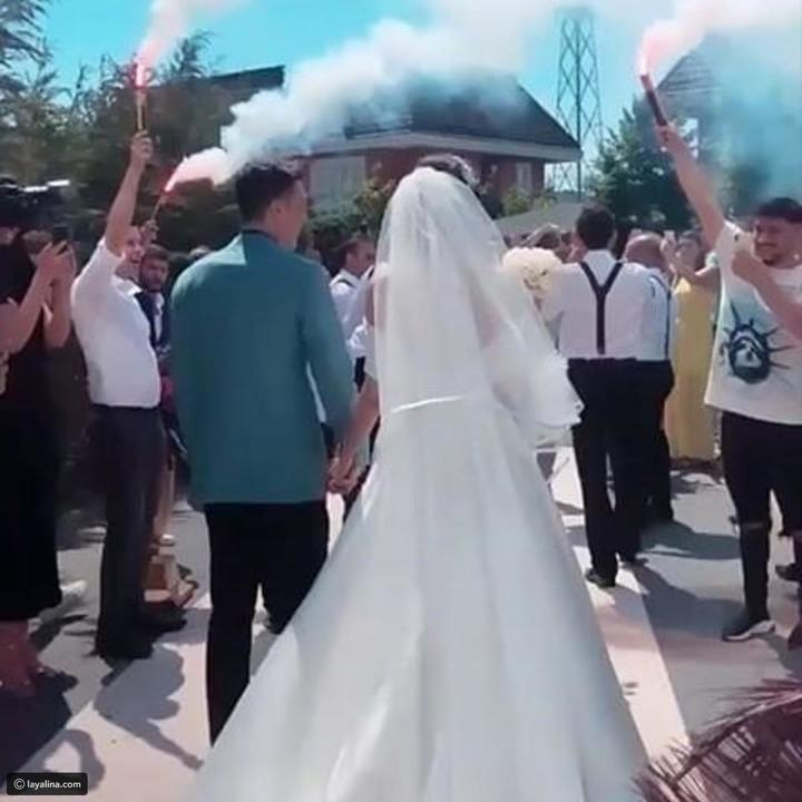 لقطات دافئة من حفل زفاف مسعود أوزيل وأمينة غولشه.. وهدية العرس مذهلة!