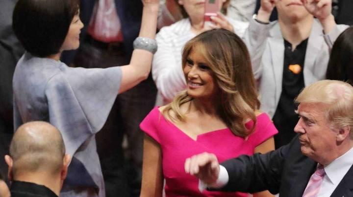 كم مرة قلّدت ميلانيا ترامب ميغان ماركل؟