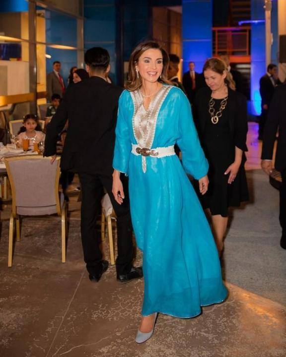أجمل إطلالات الملكة رانيا لهذا الموسم