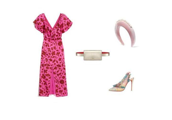 إطلالات منسقة بأسلوبٍ مميز مع أجمل الفساتين