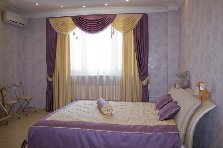 ستائر غرف نوم بتصاميم رائعة ممزوجة بالفخامة والبساطة واللون المميز