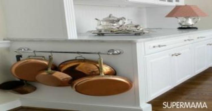 بالصور.. 10 أفكار مبتكرة لترتيب مطبخك