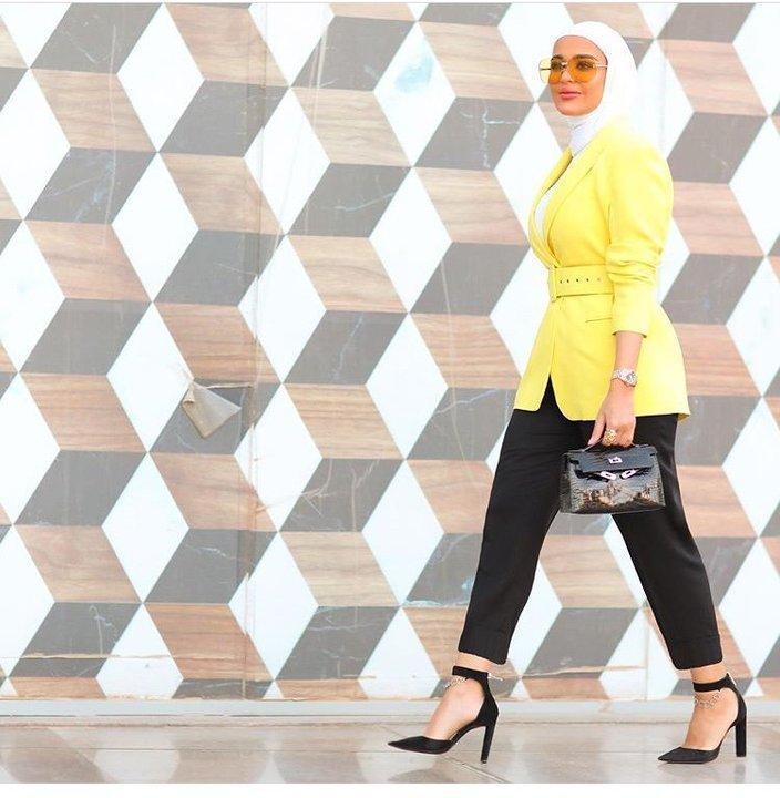 تصاميم مخصرة لإطلالة أنحف على طريقة مرمر محمد