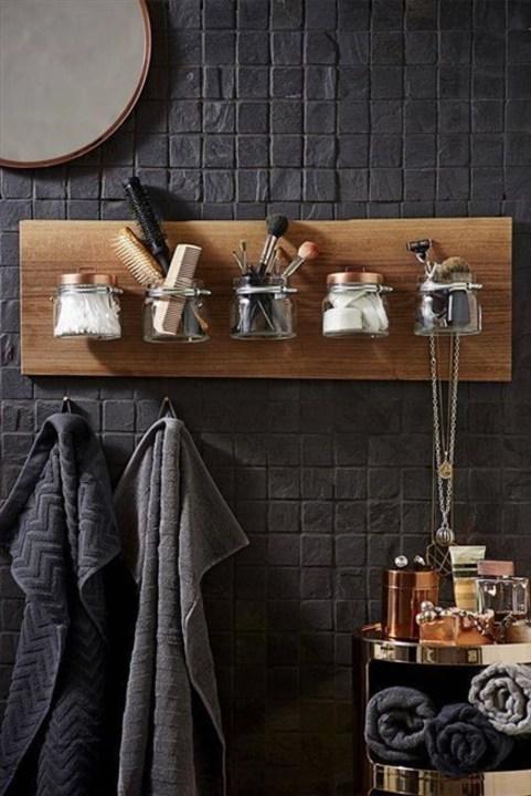 لتنظيم الأغراض في الحمام... أفكار مفيدة وجميلة!
