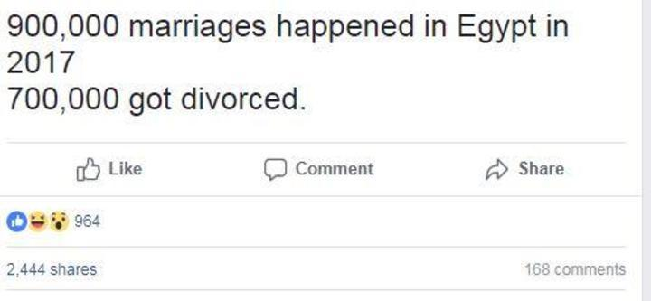ما حقيقة حدوث 700 ألف حالة طلاق في 2017؟