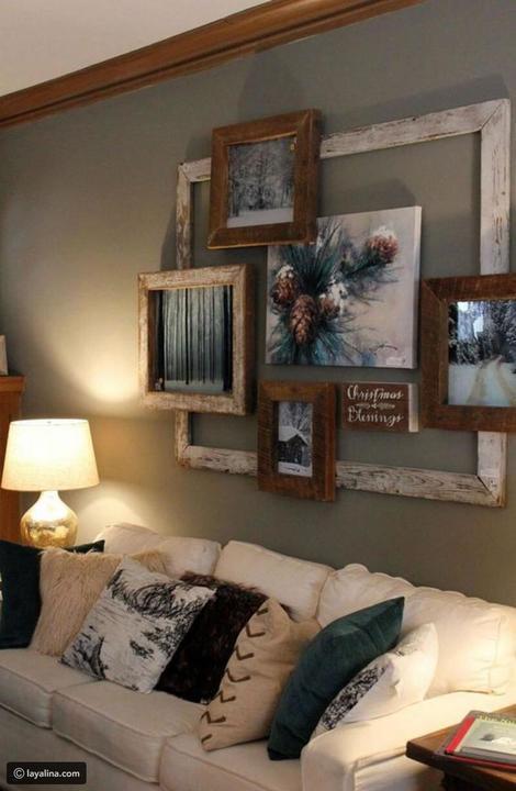 طرق مختلفة لتزيين جدران المنزل باللوحات