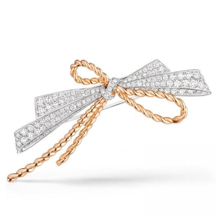 موديلات مجوهرات بتصميم الفيونكة الأنيق