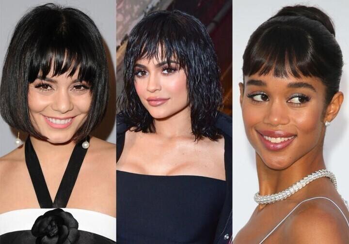 أحدث موديلات الغرة في تسريحات وقصات شعر 2020