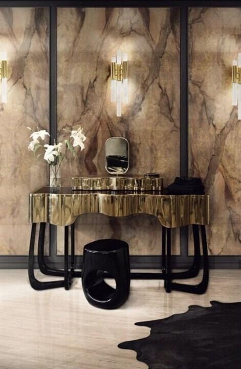 الديكورات الذهبية... لمسة من الفخامة في منزلك