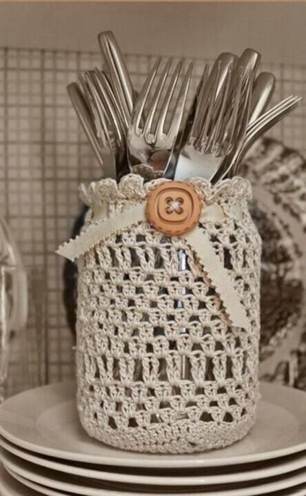 هل ترغبين بتزيين مطبخك بزينة من صنع يديك؟ اليك أجمل ديكورات كروشيه!