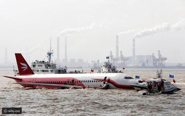 لماذا لا تهبط الطائرات فوق المياه؟