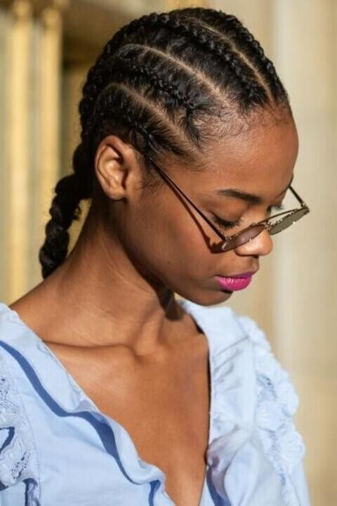 تسريحات شعر عصرية من وحي أسابيع الموضة لخريف 2019