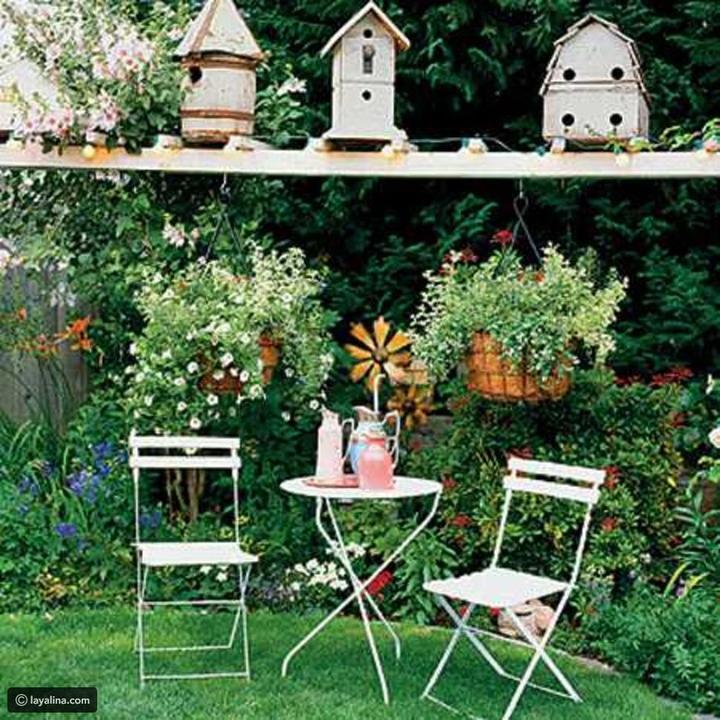 أفكار ترتيب حديقة المنزل استقبالاً للربيع