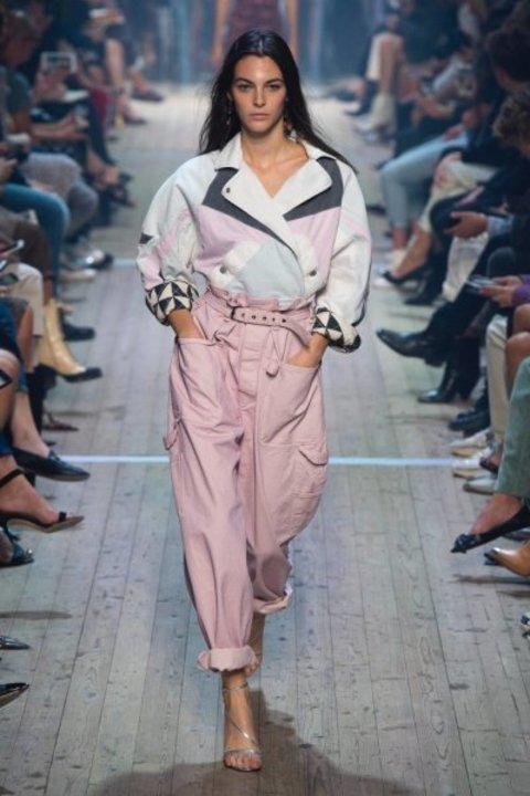 بناطيل الجيوب ابرز صيحات الموضة في صيف 2019 تعرفي عليها بالصور