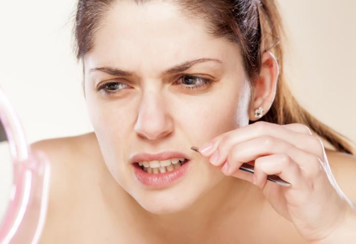 علاج التهاب البشرة بعد إزالة الشعر