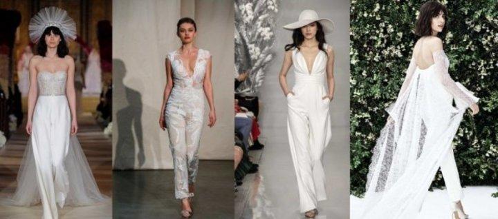 احدث موديلات فساتين زفاف موضة 2020 اسبوع الموضة العرائسي