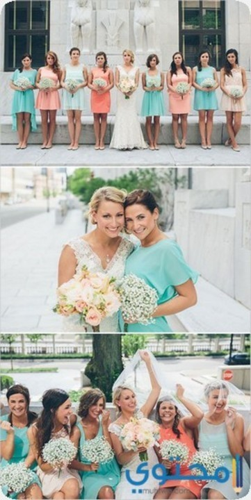 فساتين صديقات (اصحاب) العروسة 2019