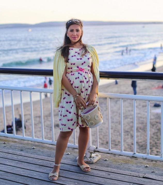 أزياء عصرية مناسبة للحامل من وحي الفاشينيستا مايا وليامز