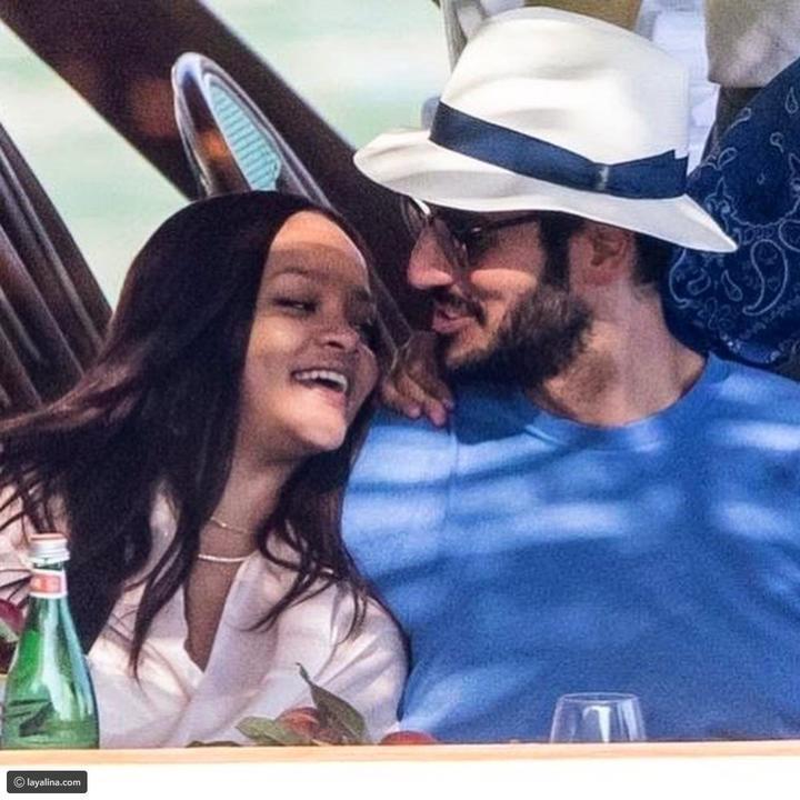 صور رومانسية مسربة من عطلة ريهانا وحسن جميل السرية في إيطاليا